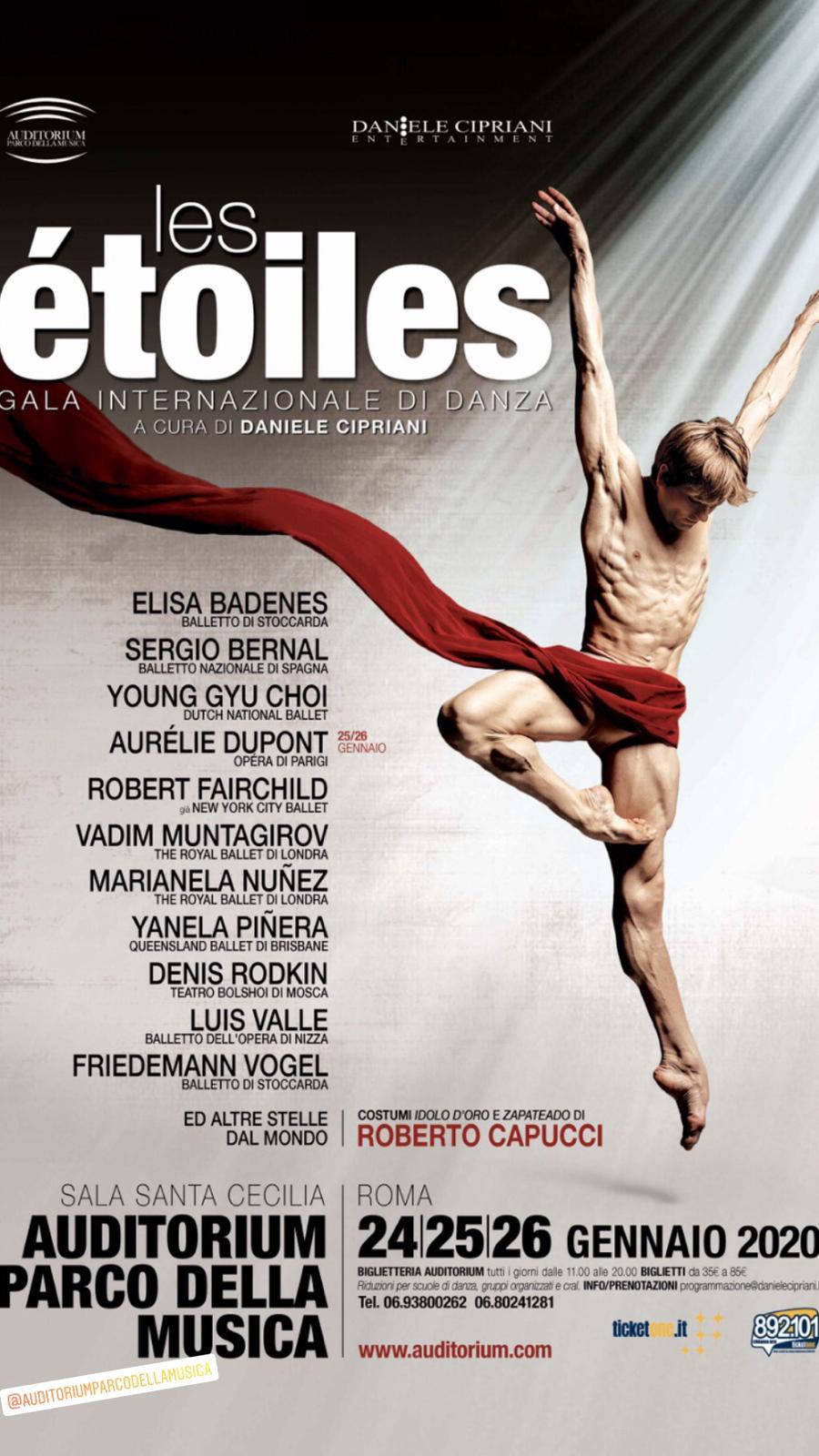 Les Etoiles Gala Internazionale Di Danza Biglietti Scontati Per Gli Studenti Dell And Accademia Nazionale Di Danza