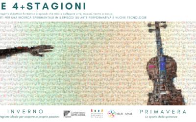 4+ Stagioni | stasera, h 20:30, in live streaming la Première del progetto didattico-formativo a episodi